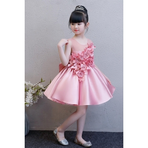 2019 hot new products baby flower girls dresses wedding dress girl