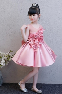 China 2019 hot new products baby flower girls dresses wedding dress girl factory