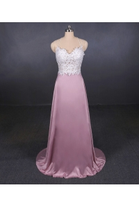 China New design formal dress beaded wedding dress manufacturer A Line 2 in 1 Bridal Gowns factory