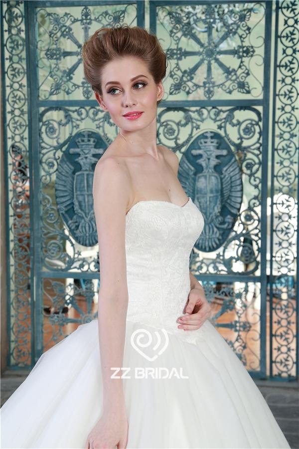 Prinzessin Hochzeit Kleid, Sweetheart Ausschnitt Brautkleid, Tüll ...