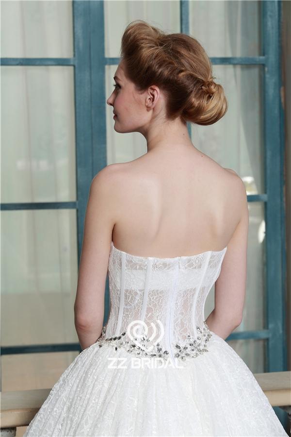 con cuentas vestido de novia, vestido de novia princesa, vestido de ...