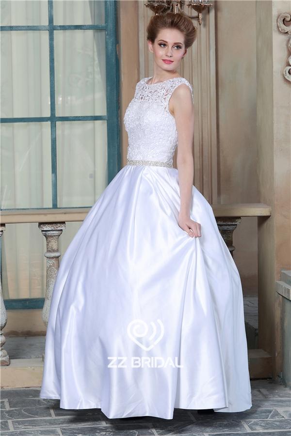 blanco vestido de novia, vestido de novia con falda, vestido de
