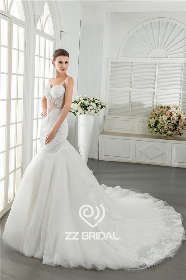 Braut Kleid Meerjungfrau, Sweetheart Halsausschnitt Braut Kleid ...